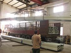 湖南怀化某中学风雨操场网架_YX65直立锁边彩钢板