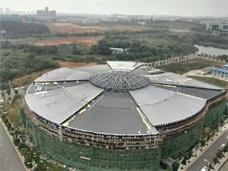 长沙YX65大小头型铝镁锰板应用项目_湖南宁乡