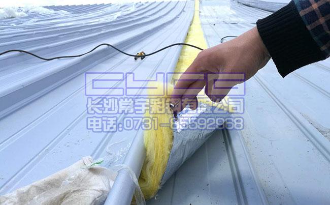 怀化铝镁锰板(直立锁边)应用案例-中方县文体中心