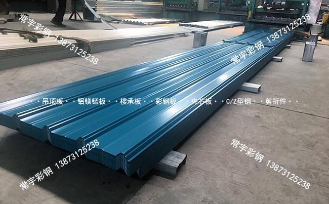 彩钢供求:常宇彩钢生产动态