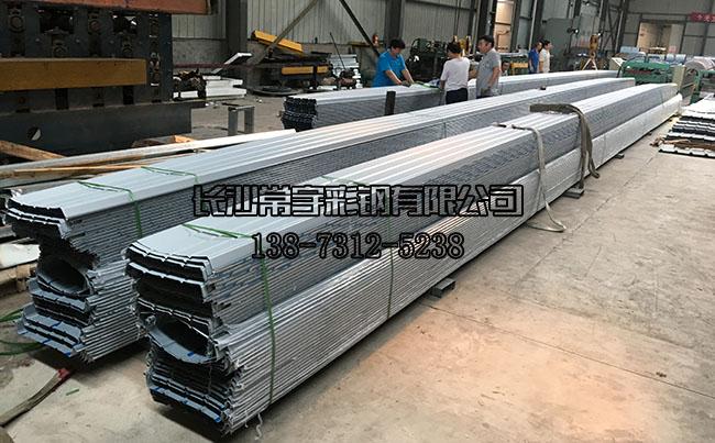 常宇彩钢:铝镁锰金属屋面板生产中!