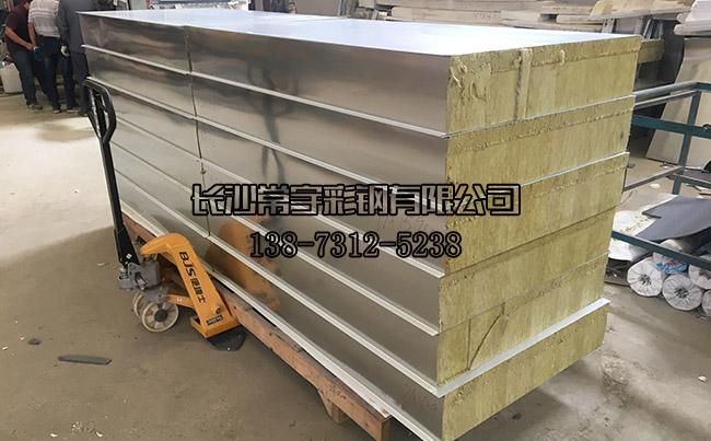【特色产品】20公分厚岩棉夹芯板-常宇彩钢