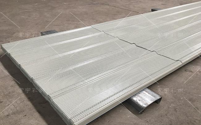 上海宝钢彩钢穿孔瓦(900型)