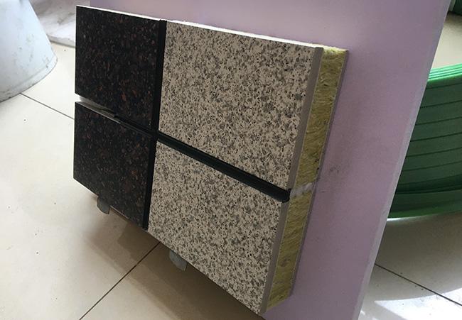 【独家新品】高端外墙岩棉一体化板