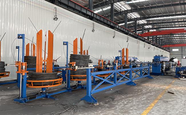 全新桁架楼承板生产线