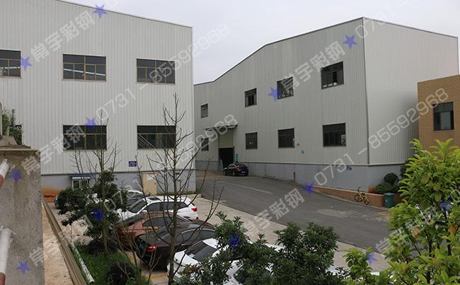 钢结构厂房材料 www.cschangyu.com