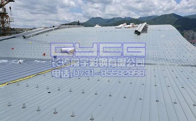 铝镁锰屋面系统(www.cschangyu.com),T型支座