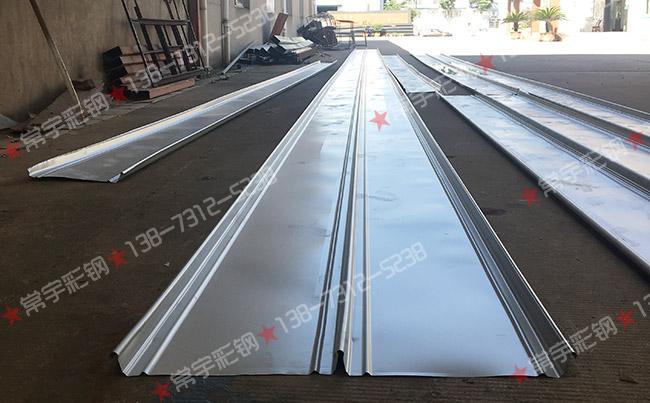 常宇彩钢:25m长扇形430直立锁边面板